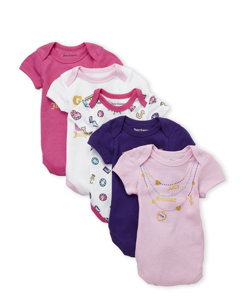 Crown Jewel 5-Pack Bodysuits