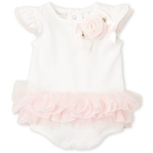 MINICLASIX (Newborn Girls) Tutu Rose Bodysuit