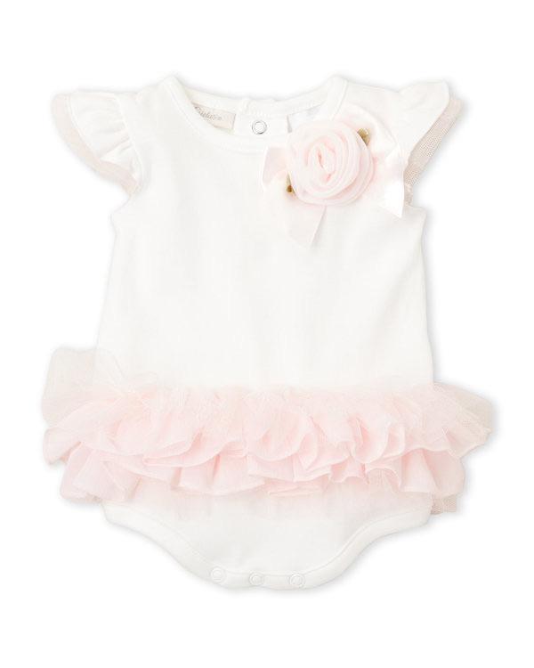 MINICLASIX (Newborn Girls) Tutu Rose Bodysuit
