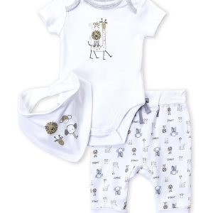 ABSORBA (Newborn/Infant) 3-Piece Animal Set