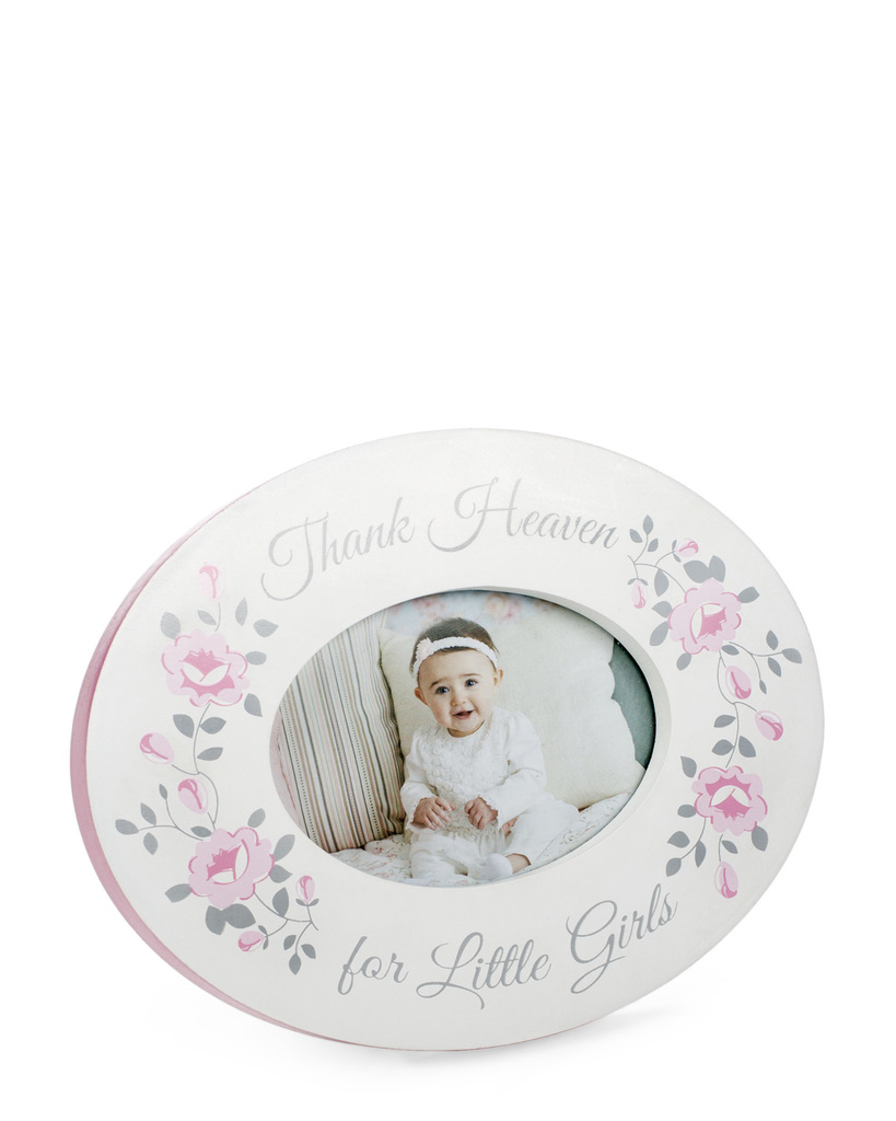 TRI-COASTAL 3″ x 2″ Thank Heaven for Little Girls Frame