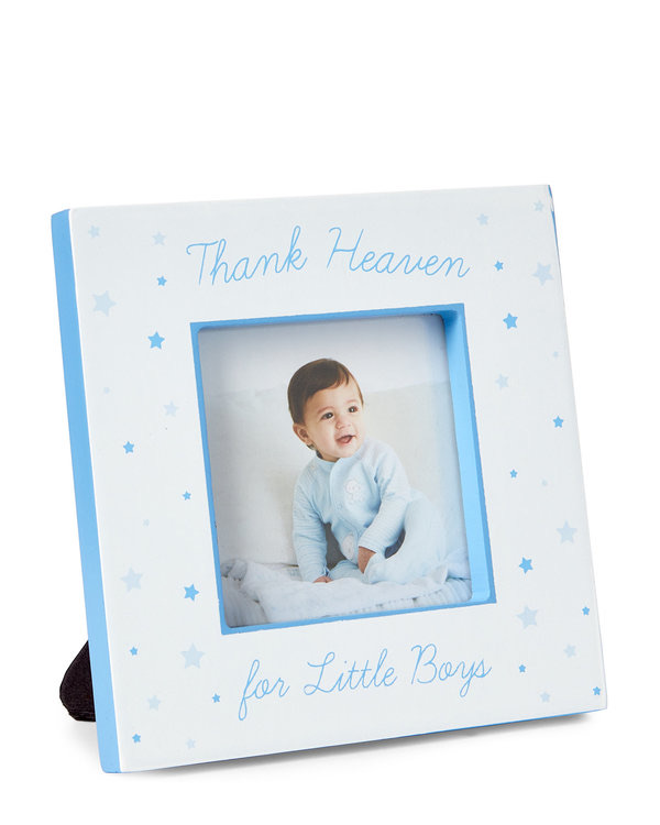 TRI-COASTAL 2″ x 2″ Thank Heaven for Little Boys Frame