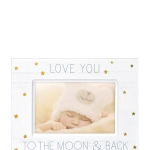 "MALDEN 4"" x 6"" Love You To The Moon & Back Picture Frame"