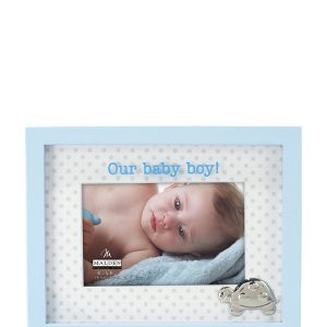"MALDEN 4"" x 6"" Baby Boy Picture Fram"
