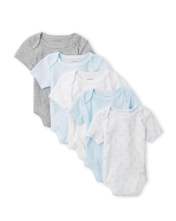 5-Pack Short Sleeve Bodysuits