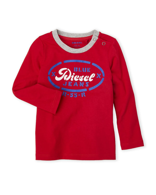 DIESEL (Infant Boys) Diesel Jeans Long Sleeve Tee red