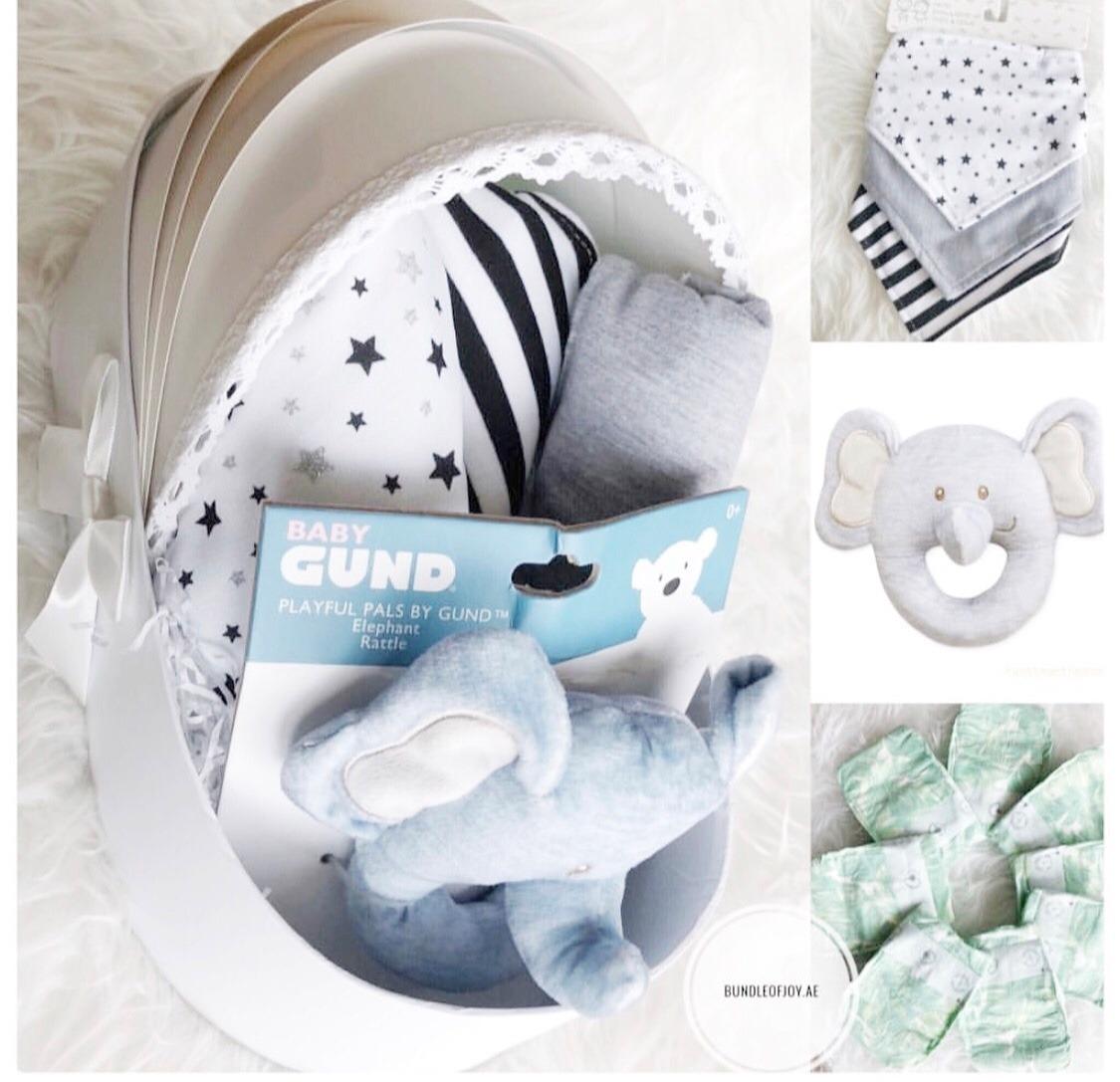 Elephant babybasket