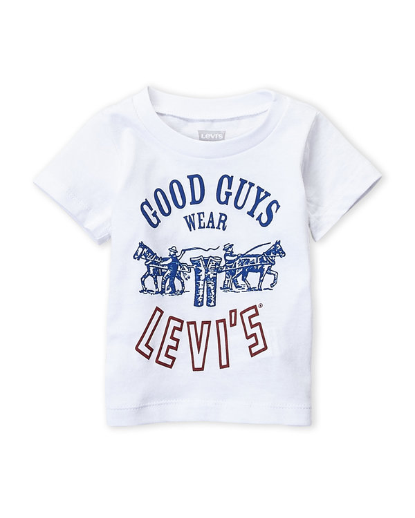 LEVI'S (Infant Boys) Good Guys Logo Tee