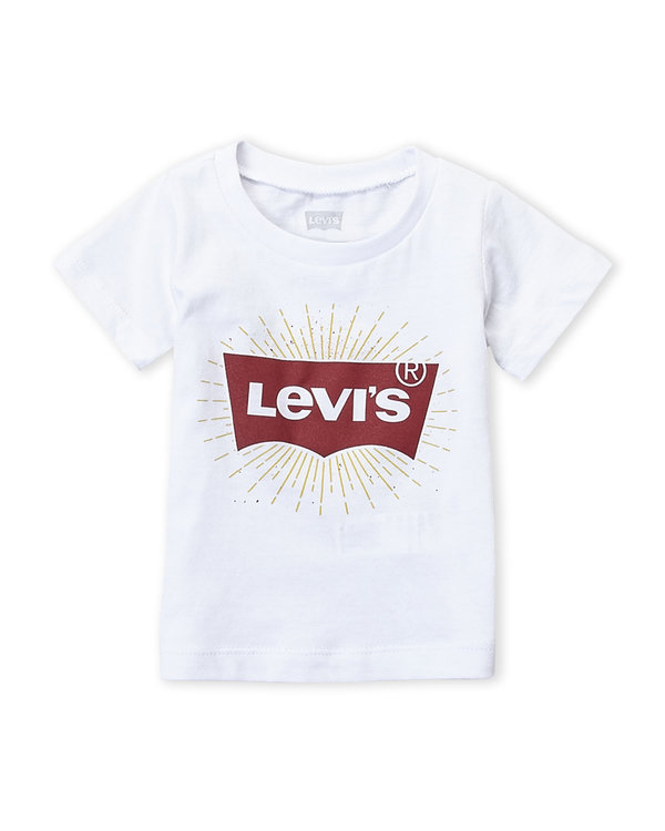 LEVI'S (Infant Boys) Logo Tee white