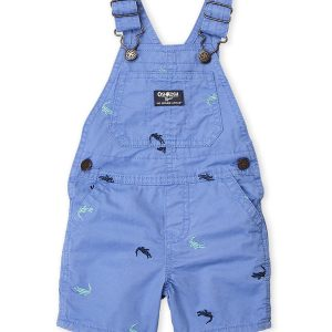 OSH KOSH B'GOSH (Newborn:Infant Boys) Crocodile Overalls