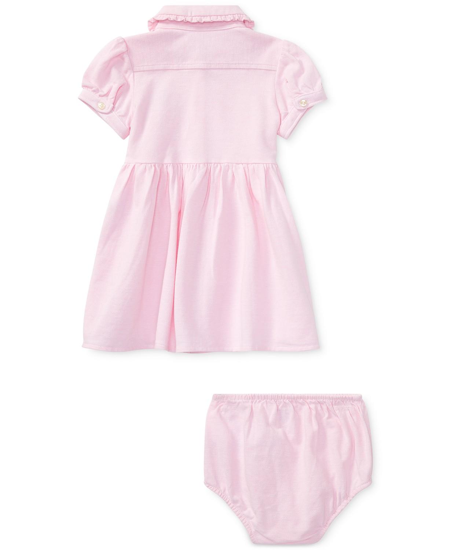 Ralph Lauren Knit Oxford Cotton Dress