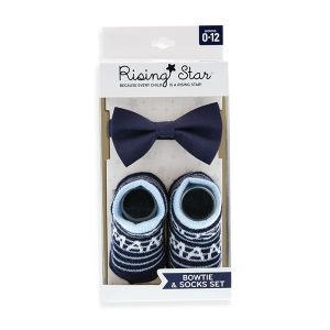 Rising star bow tie set