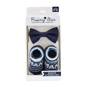 Rising star bow tie set