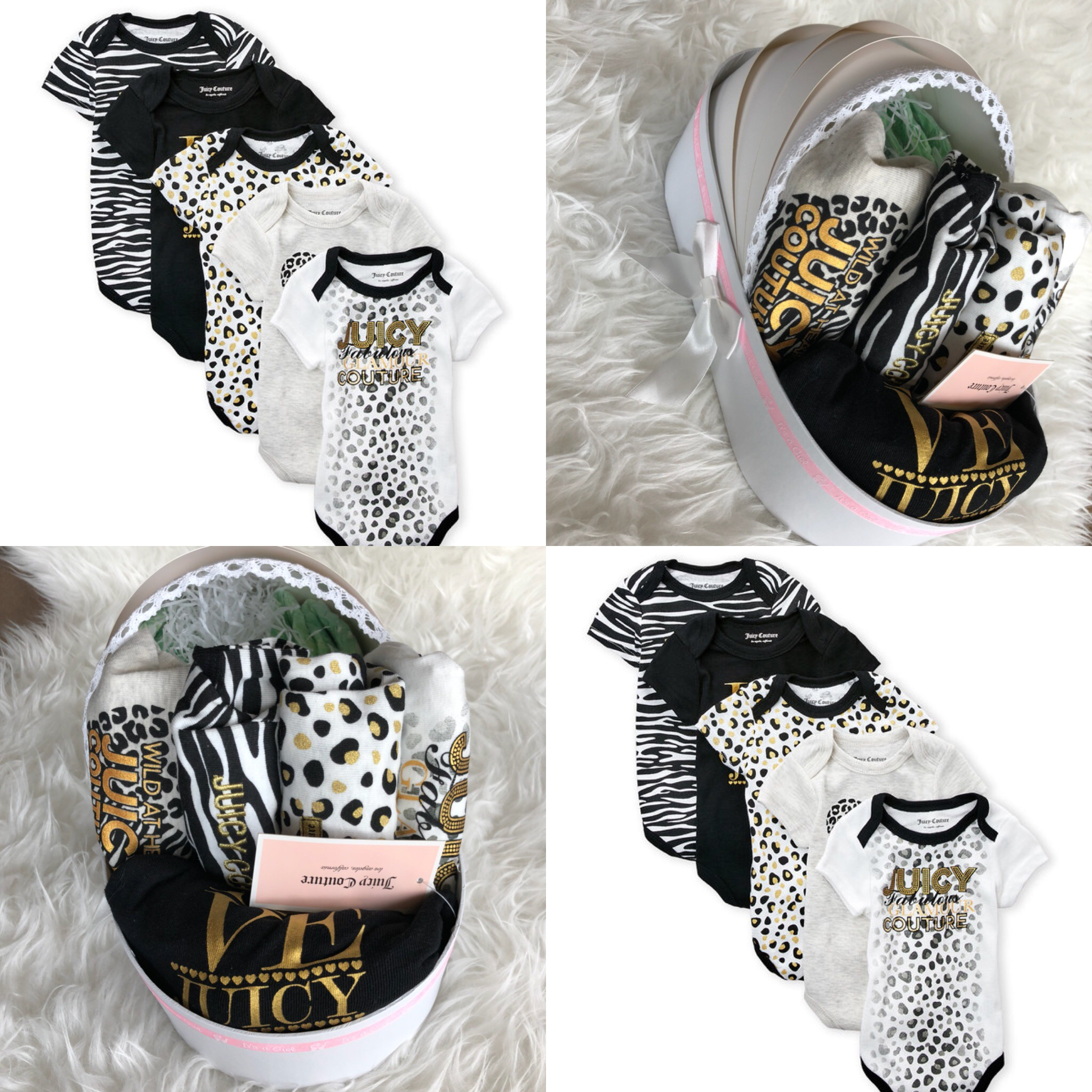 JuicyCouture Gift Basket baby girl