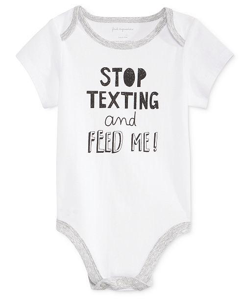 Stop Texting Bodysuit, Baby Boys & Girls