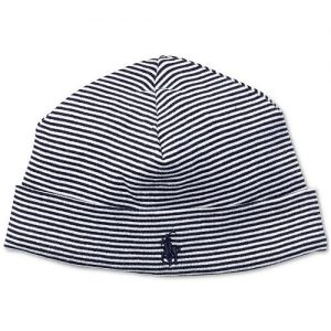 Ralph Lauren Striped Cotton Hat, Baby Boys
