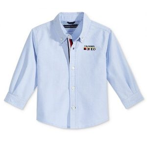 Tommy Hilfiger Chad Cotton Shirt, Baby Boys