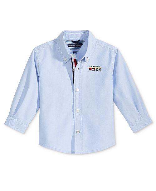 Tommy Hilfiger Chad Cotton Shirt, Baby Boys