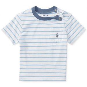 Polo Ralph Lauren Striped Cotton T-Shirt, Baby Boys