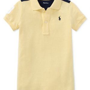 Ralph Lauren Colorblocked Cotton Romper, Baby Boys