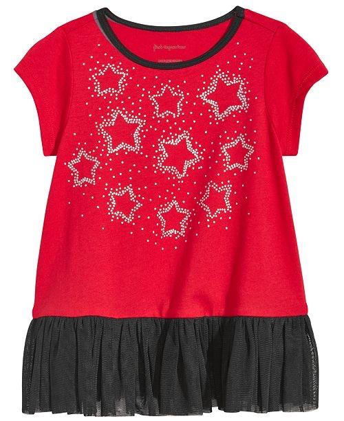 Stars Tulle-Hem Tunic