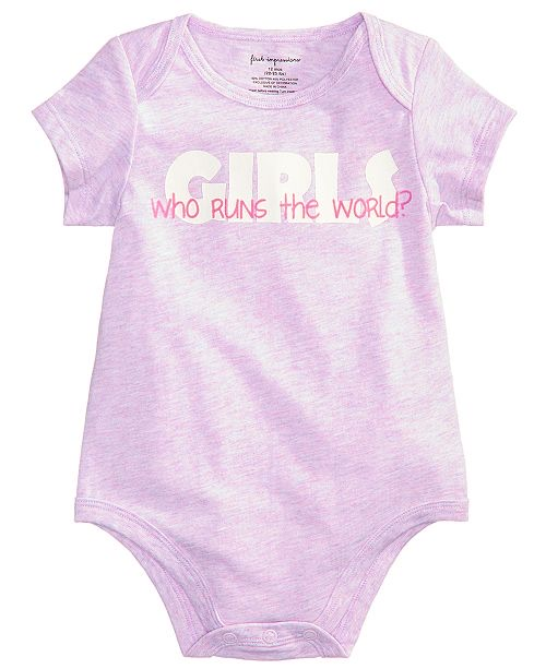 Who Runs The World Bodysuit,