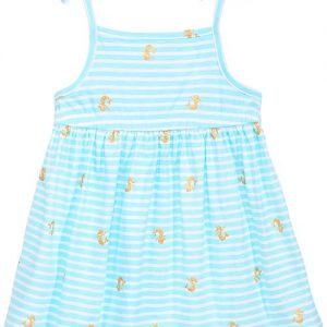 Baby Girls Printed Cotton Sundress