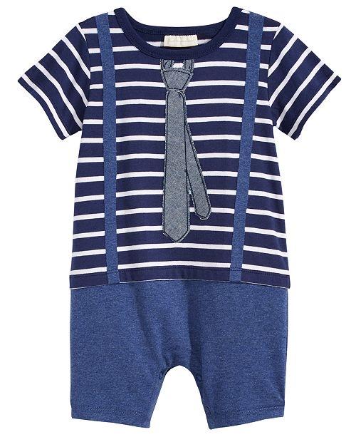 Little Man Cotton Romper,
