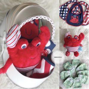 Mr. Crab gift basket