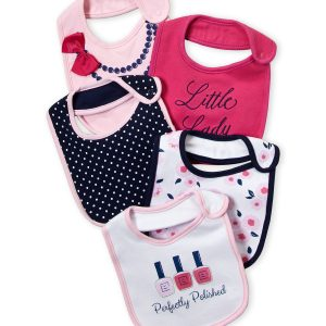 5-Pack Polished Bibs - LT
