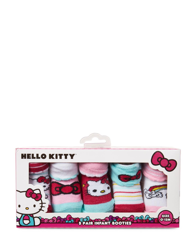 5-Pack Printed Socks