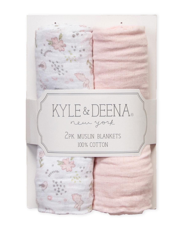 2 pack muslin blanket