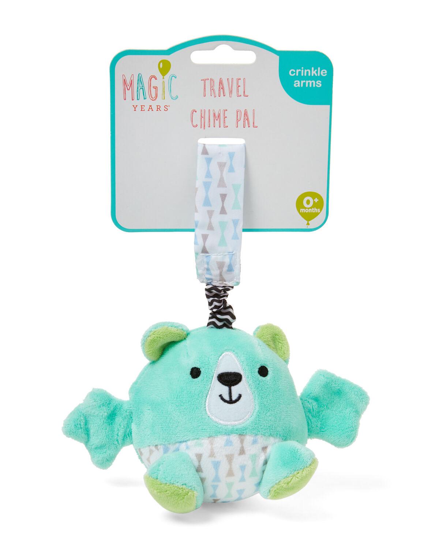 Bear travel chime bell rattle